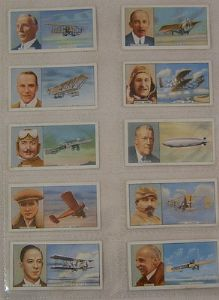 Carreras - Famous Airmen & Airwomen - Set - 50 cards